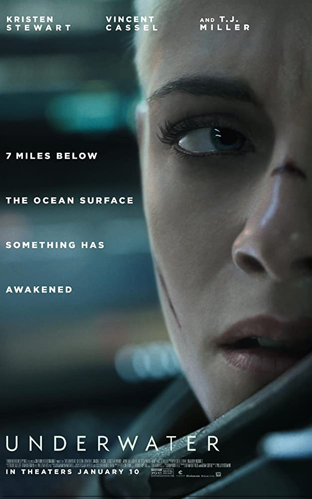 Underwater 2020 English 720p HDRip 800MB ESub Download