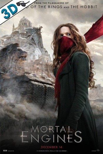 Mortal Engines 2018 3D HSBS Hindi Dual Audio 720p BDRip 950MB Download
