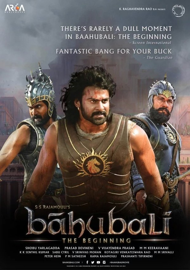 Baahubali 2015 Hindi Movie 500MB BluRay Download
