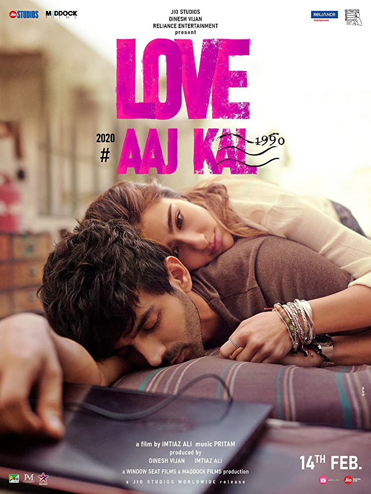 Download Love Aaj Kal (2020) Hindi Full Movie 480p HDRip 400MB ESubs x264 AAC