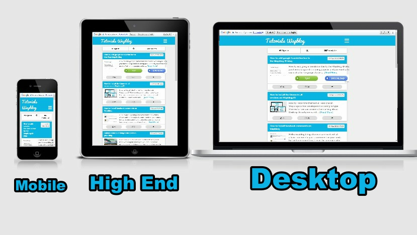 Image of How to activate your blog in 3 versions on Wapblo.ID