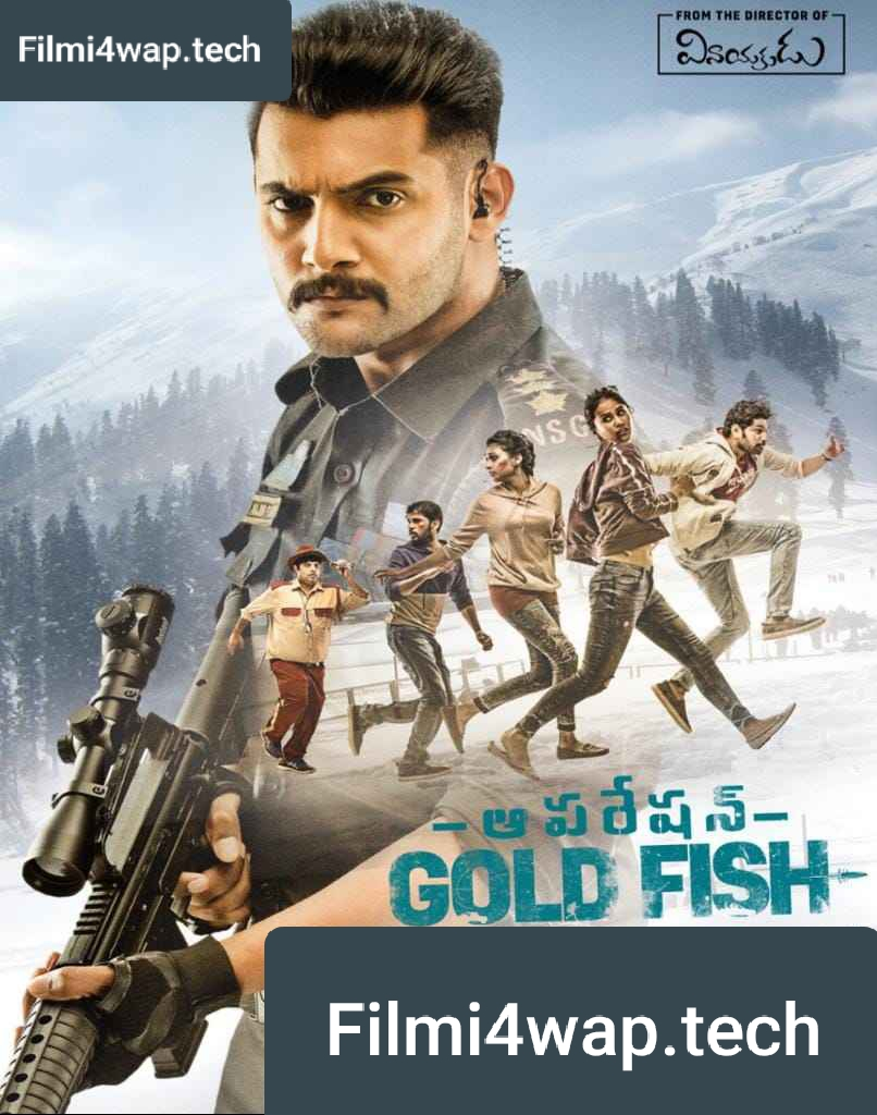 Mission Gold Fish (Operation Gold Fish) 2020 New South Hindi Dubbed Full Movie HD