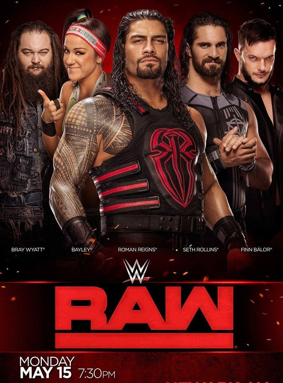 WWE Monday Night Raw (25 May 2020) English 720p HDRip 1.2GB
