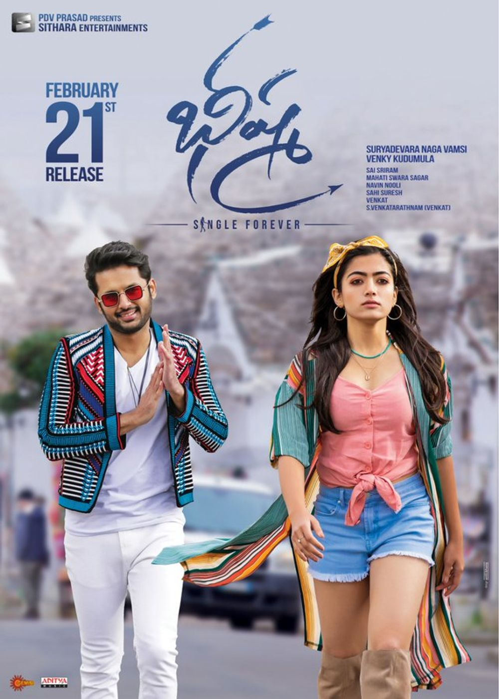 Download Bheeshma 2020 Telugu Movie 480p HDRip 400MB ESubs