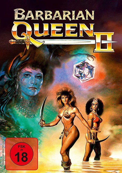 18+ Barbarian Queen II: The Empress Strikes Back 1990 Dual Audio Hindi 300MB UNRATED DVDRip Download
