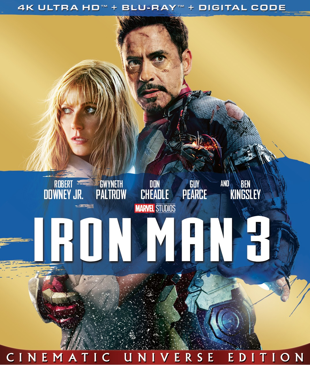 Iron Man 3 2013 Hindi ORG Dual Audio 450MB BluRay ESubs Download