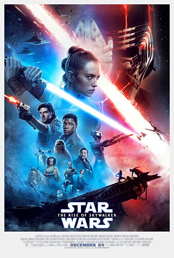 Star Wars: The Rise Of Skywalker 2020 Hindi Dubbed ORG Audio 720p BluRay 700MB ESub