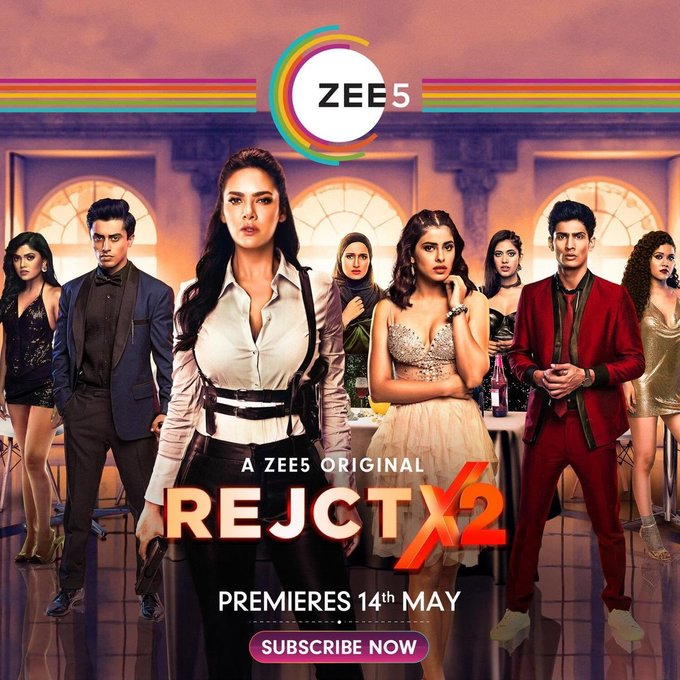 18+ RejctX S02 2020 Hindi ZEE5 Originals Web Series (Ep 1-5) 480p HDRip 450MB x264 AAC *Hot Exclusive*