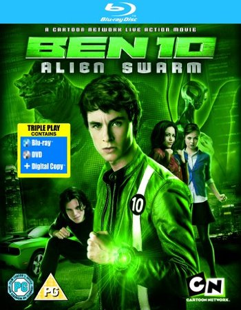 Ben 10 Alien Swarm 2009 Dual Hindi 480p BRRip x264 250MB