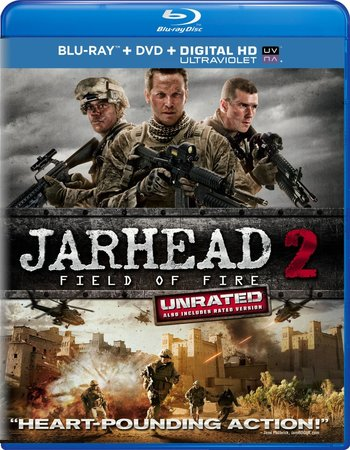Jarhead 2 Field of Fire 2014 Dual Hindi 300MB BRRip x264
