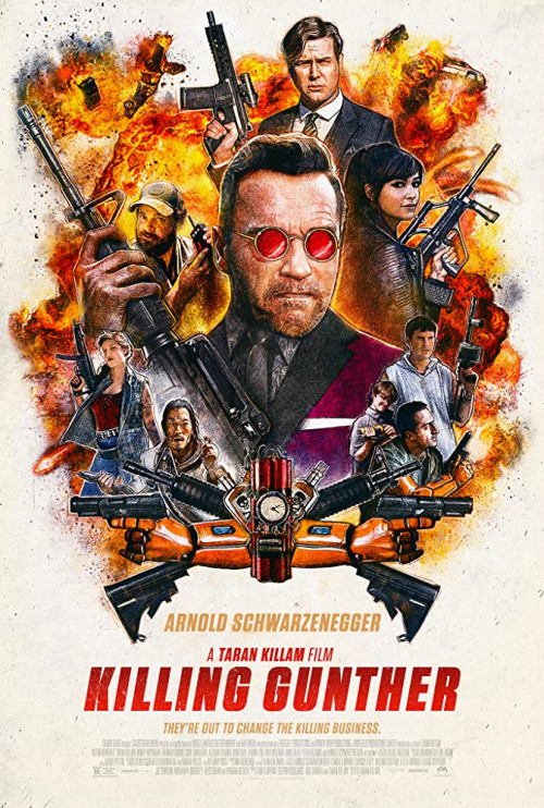 Killing Gunther 2017 Hindi ORG Dual Audio 500MB BluRay 720p HEVC x265 ESubs