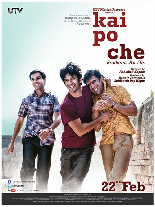 Download Kai po che! (2013) 1080p H.265 | 720p x264 BluRay Hindi AAC