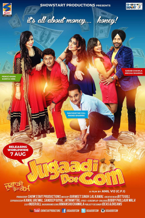 Jugaadi Dot Com 2015 Punjabi Movie 720p HDRip ESubs 1.2GB Download