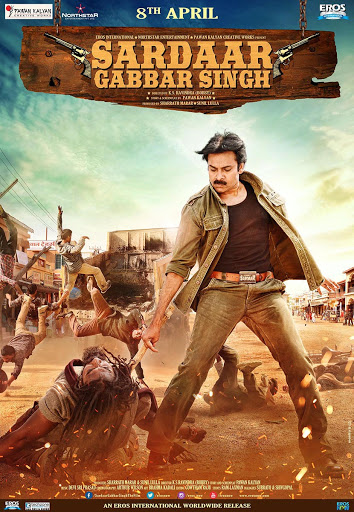 Sardaar Gabbar Singh 2016 Hindi 720p UNCUT DVDRip Dual Audio 1.8GB