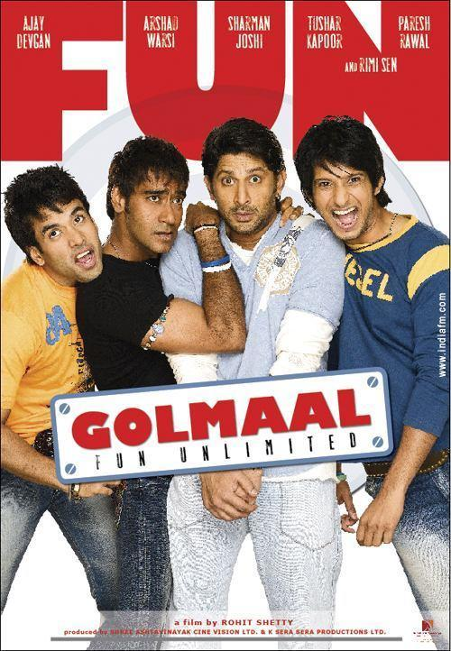 Golmaal Fun Unlimited 2006 Hindi 450MB HDRip ESubs Download