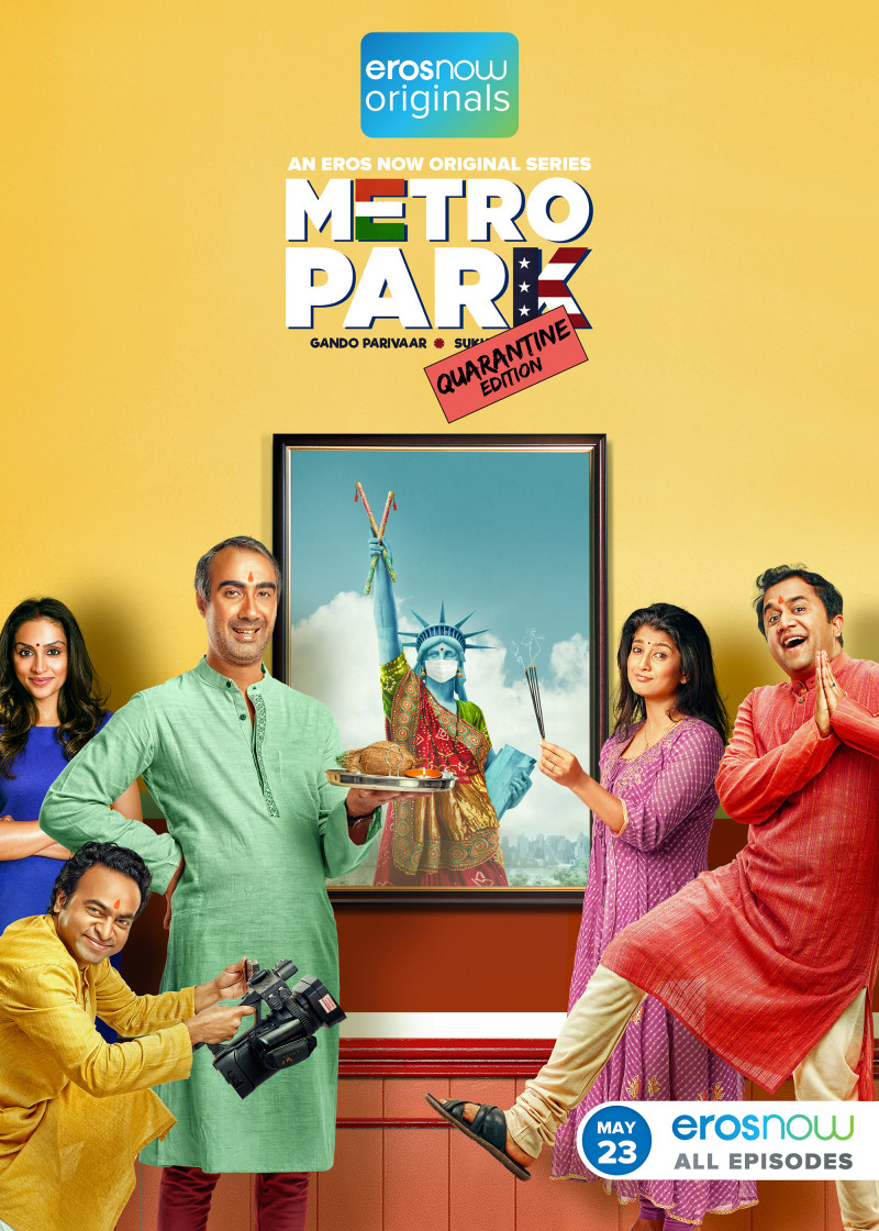 Metro Park Quarantine Edition S01 2020 Hindi Complete Eros Web Series 720p HDRip 252MB Download