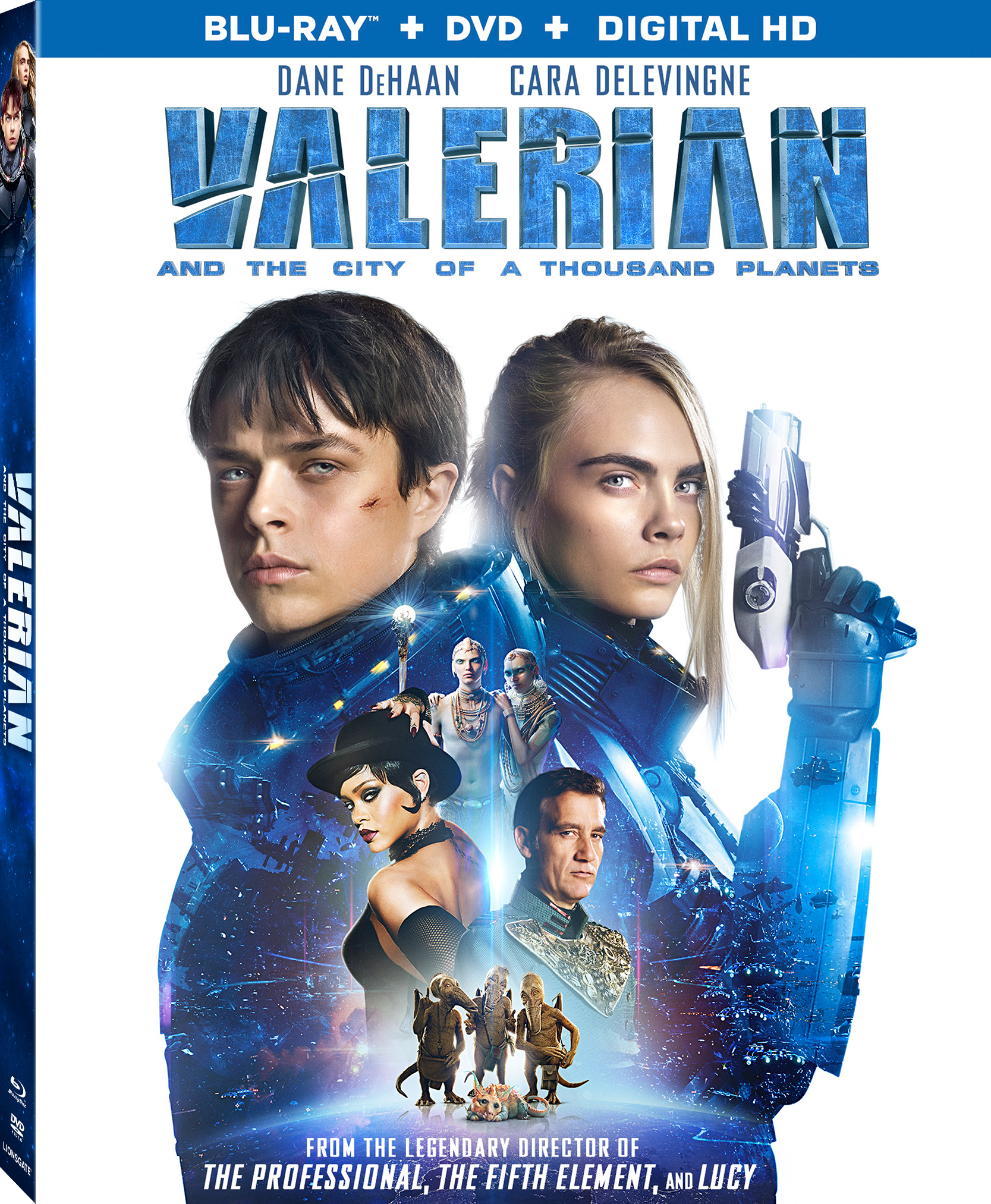 Valerian and the City of a Thousand Planets 2017 Hindi Dual Audio 720p BluRay 1.1GB ESubs