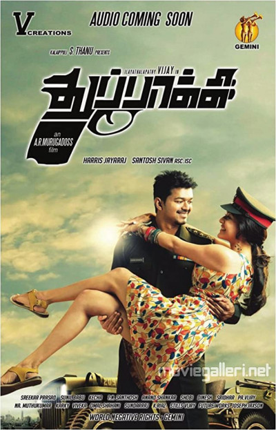 Thuppakki 2012 Hindi Dual 480p Audio UNCUT BluRay 600MB ESub