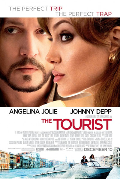 The Tourist 2010 Hindi BluRay Dual Audio 350MB ESub
