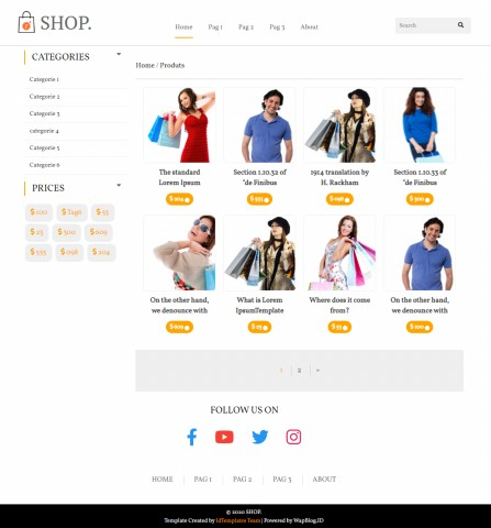 Image of Shop Template