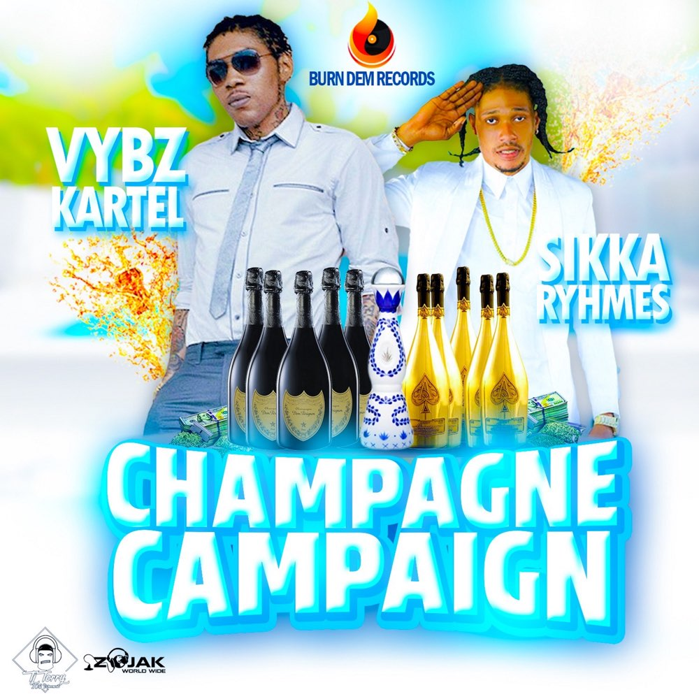 Vybz Kartel ft. Sikka Rymes – Champagne Campaign