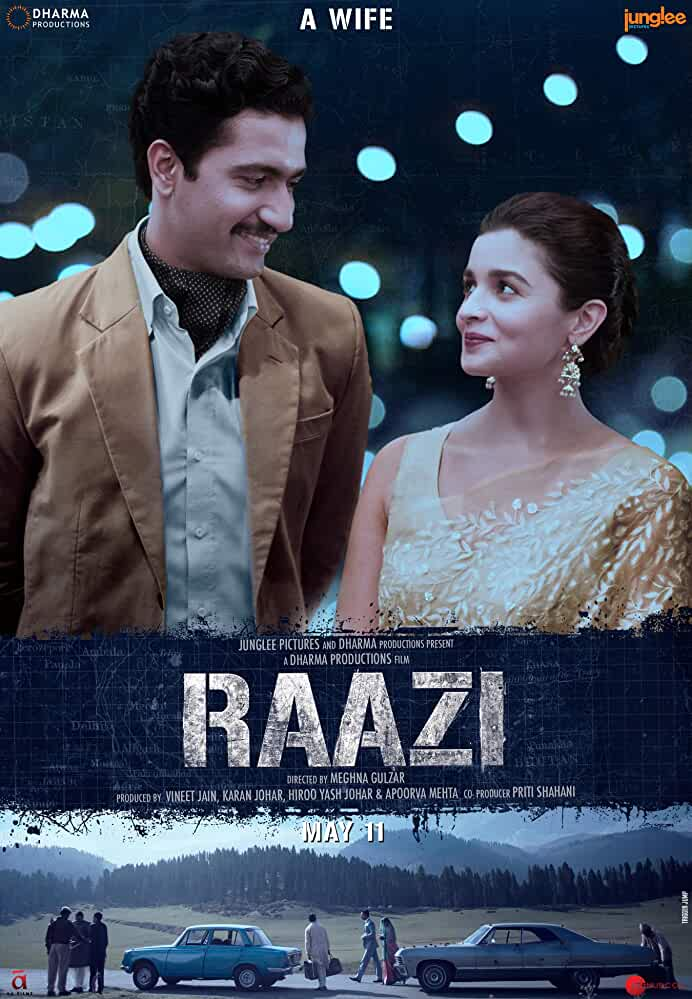 Raazi 2018 Hindi 1080p BD50 Blu-Ray AVC DTS-HDMA 5.1- DTOne -ExClusive | G- Drive | 41 GB |