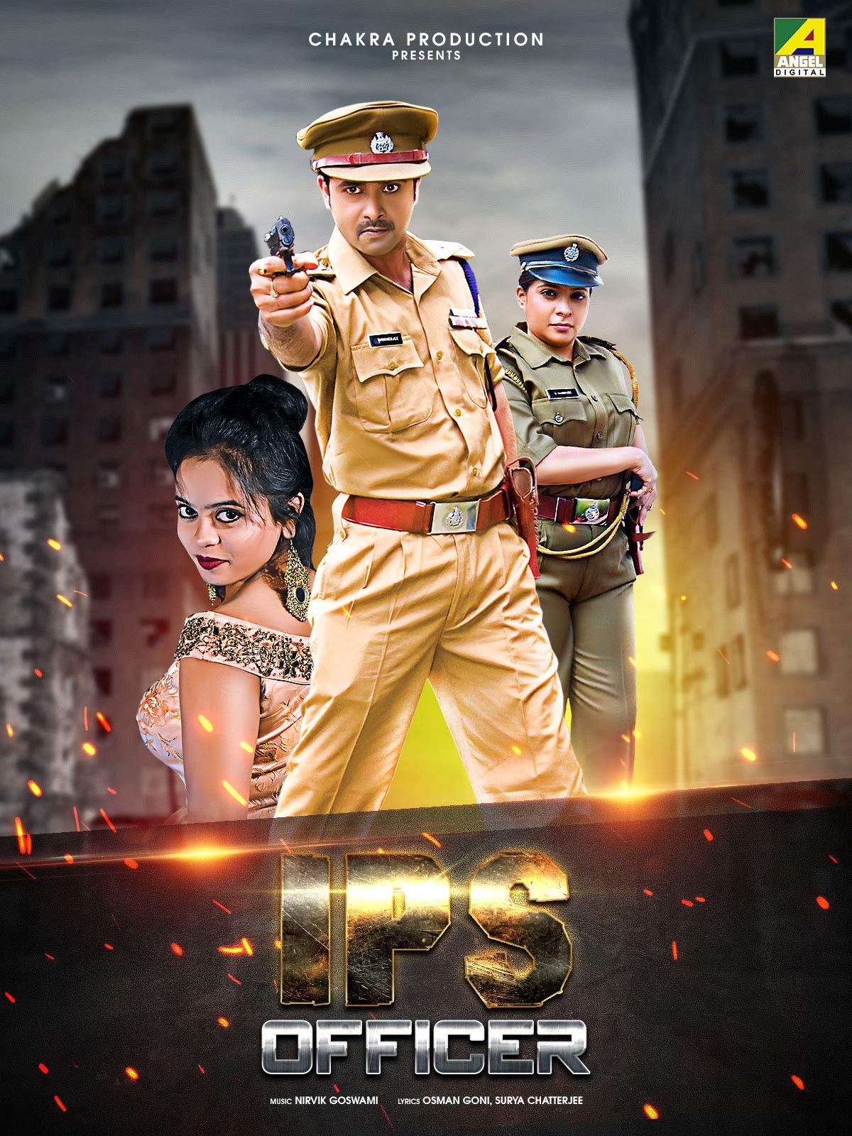 Ips Officer (2020) Bengali Movie 720p HDRip ESubs 700MB MKV