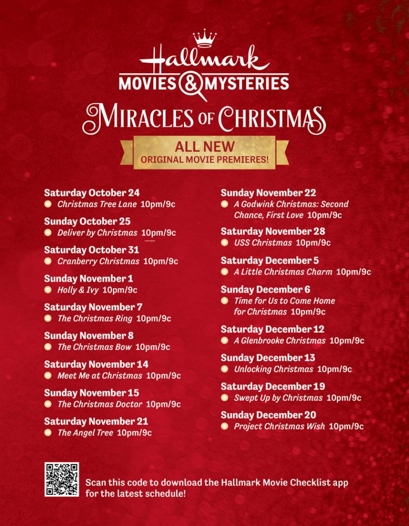 download hallmark miracles of christmas preview special