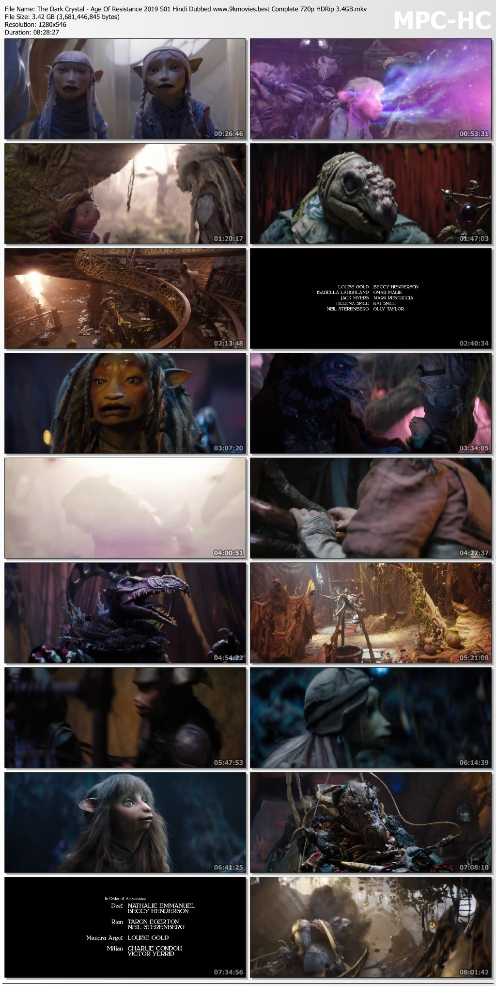 The Dark Crystal Age Of Resistance 2019 S01 Hindi Dubbed
