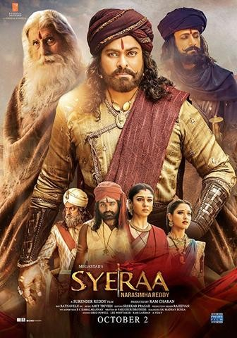 Sye Raa Narasimha Reddy 2019 Dual Hindi 720p 480p WEB-DL ESubs
