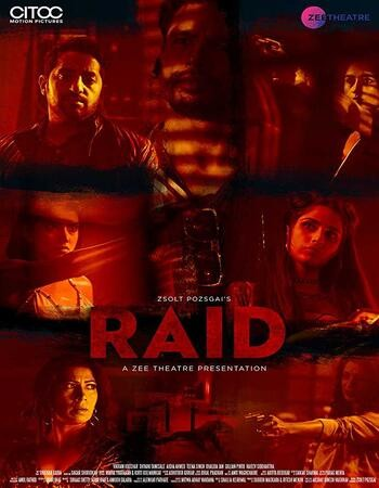 Raid 2019 Hindi Full Movie 720p WEB-DL x264 600MB Eusbs
