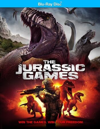The Jurassic Games 2018 Dual Hindi 480p BRRip 300MB ESubs