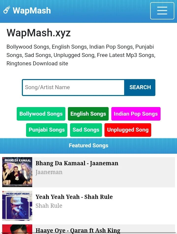 [WAPMASH1] Wapkiz New Stylish Download Site Template by WapMash Full Source Code