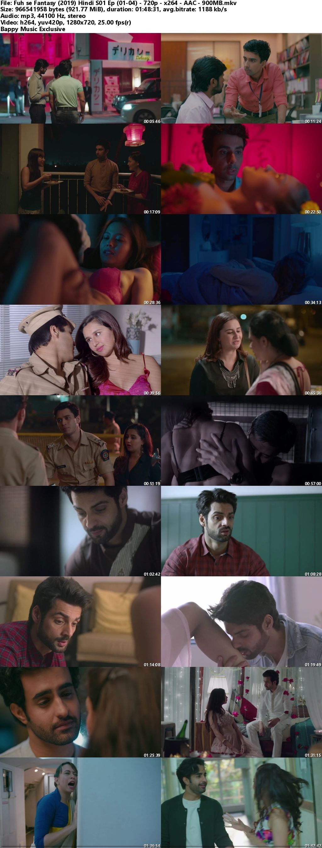 18+ Fuh se Fantasy (2019) Hindi S01 Hot Web Series 720p HDRip 700MB Download