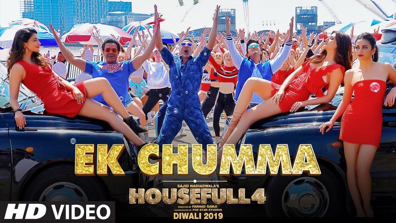 Ek Chumma (Housefull 4) Video Song 720p HDRip 43MB Download