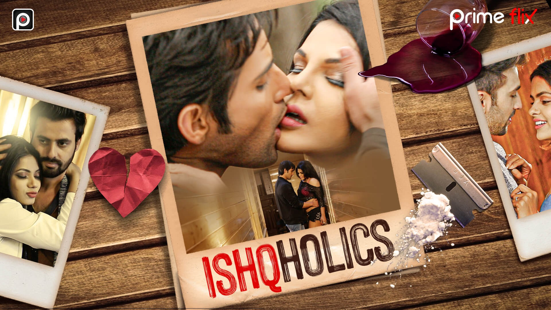18+ Ishcoholic (2019) S01 Hindi Complete Hot Web Series 267MB HDRip Download