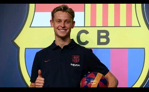 "Barcelona New boy ""De Jong"" Reveals dream of joining Arsenal"