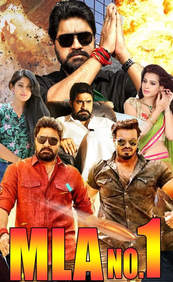 MLA No 1. 2019 Hindi Dubbed Full Movie 720p HDRip x264 1.2GB Downlaod