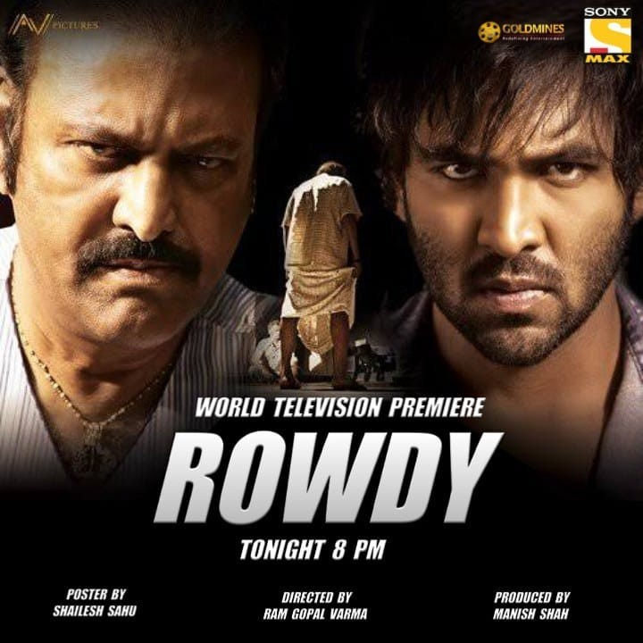 Rowdy (2019) Hindi Dubbed Full Movie 480p HDRip 400MB x264 Download