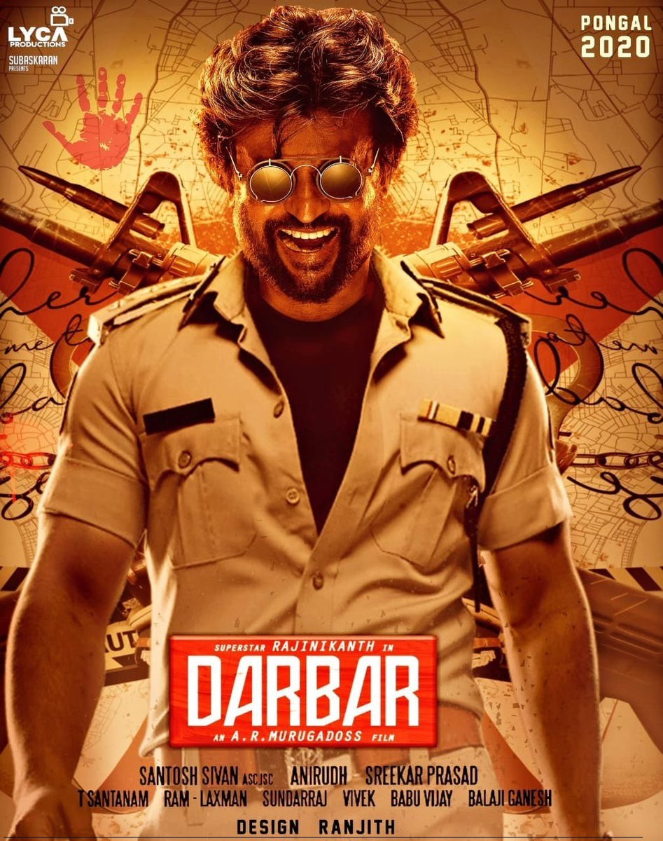 DARBAR (2019) Hindi Dubbed Full Movie Motion Poster 720p HD Download