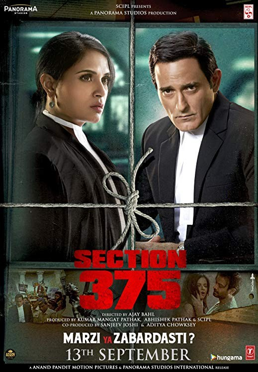 Section 375 (2019) Hindi Full Movie Proper TRUE 480p WEB-DL 400MB x264 Download