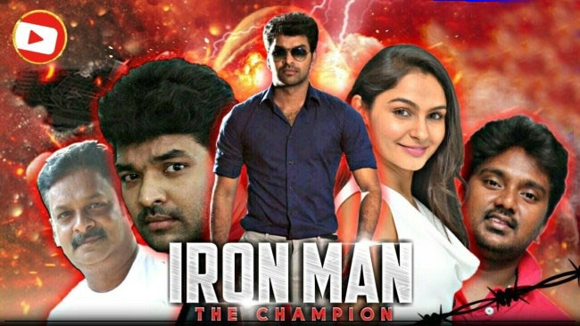 Ironman The Champion (2019) Hindi Dubbed Movie 720p HDRip x264 1GB Download & Watch Online