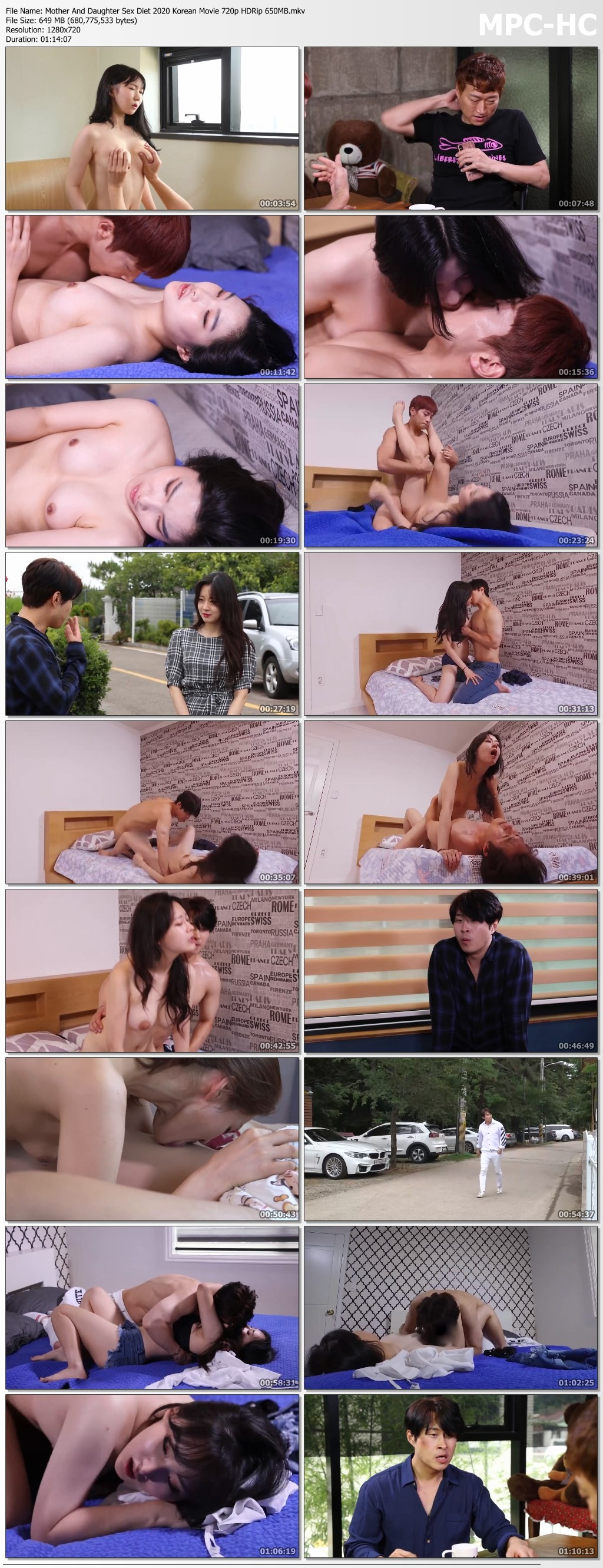 wIrSQ - 18+ Mother And Daughter Sex Diet 2020 Korean Full Hot Movie 720p HDRip 700MB x264 AAC