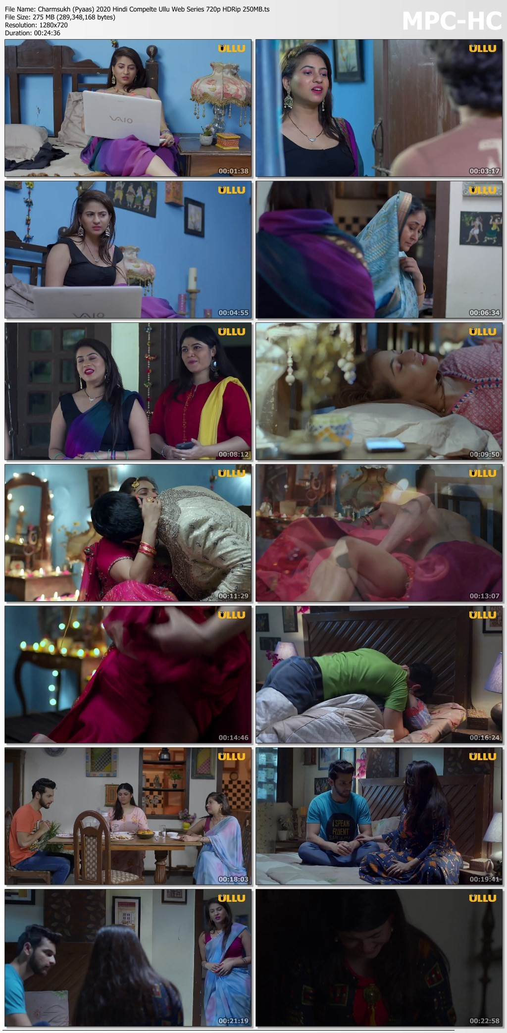 wm0bK - 18+ Charmsukh (Pyaas) 2020 Hindi Complete Ullu Hot Web Series 720p HDRip 350MB x264 AAC
