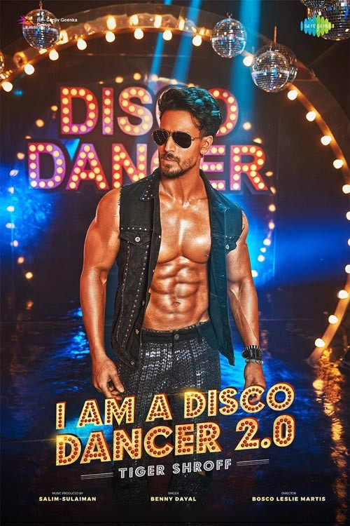 I Am A Disco Dancer 2.0 (2020) Feat. Tiger Shroff Official Music Video 1080p HDRip 76MB Download